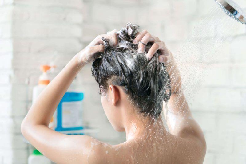 mujer pelo seco