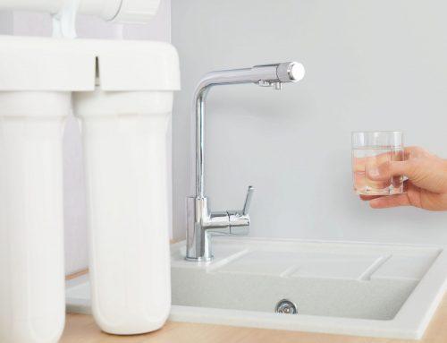 Mantenimiento de los filtros de agua y recambio de los mismos